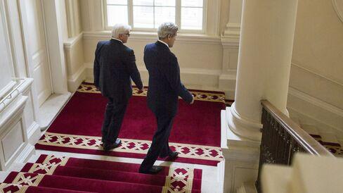 Frank-Walter Steinmeier & John Kerry