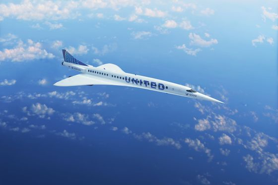 United Bets on Supersonic Future With $3 Billion Boom Jet Order
