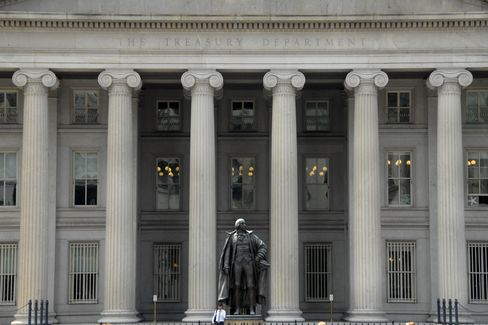 Treasury Draws Negative Yield for First Time