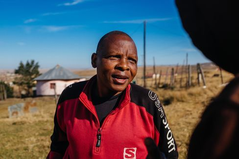 Landile Qebula, 54, near Libode in the Eastern Cape, South Africa on Tuesday, July 12 2016.