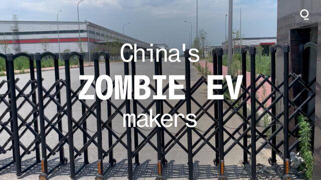 China's Zombie EV Makers