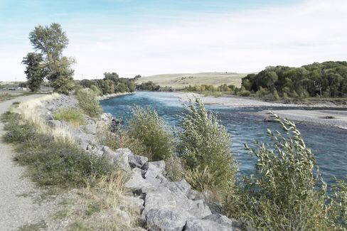 The Yellowstone, one of the premier angling rivers in the West, runs through Livingston.
