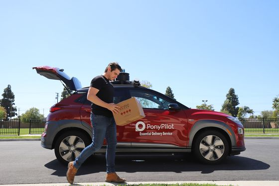 Autonomous-Driving Startup Pony.ai Takes On Last-Mile Delivery