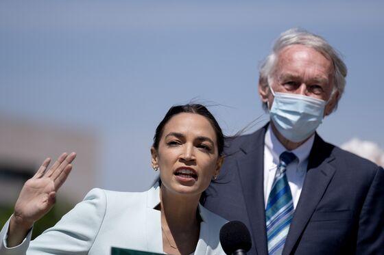 Ocasio-Cortez, Progressives Push Anew for Green New Deal