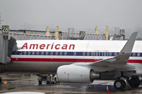 American Cuts Pilot-Concession Goal 15% in Bid for Contract