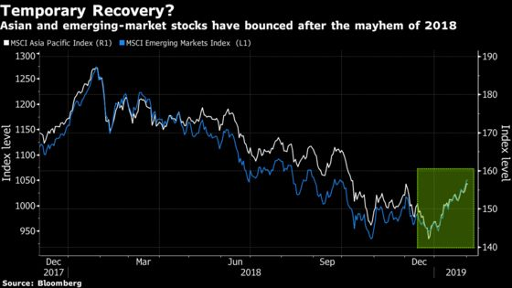 Asia Stocks Having a 'Bear-Market Bounce,' JPMorgan Asset Says