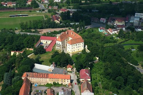 €3,000,000: The Castle of Count Thurn's price includes an adjacent summer residence; a brewery and wine cellar are also available for purchase.