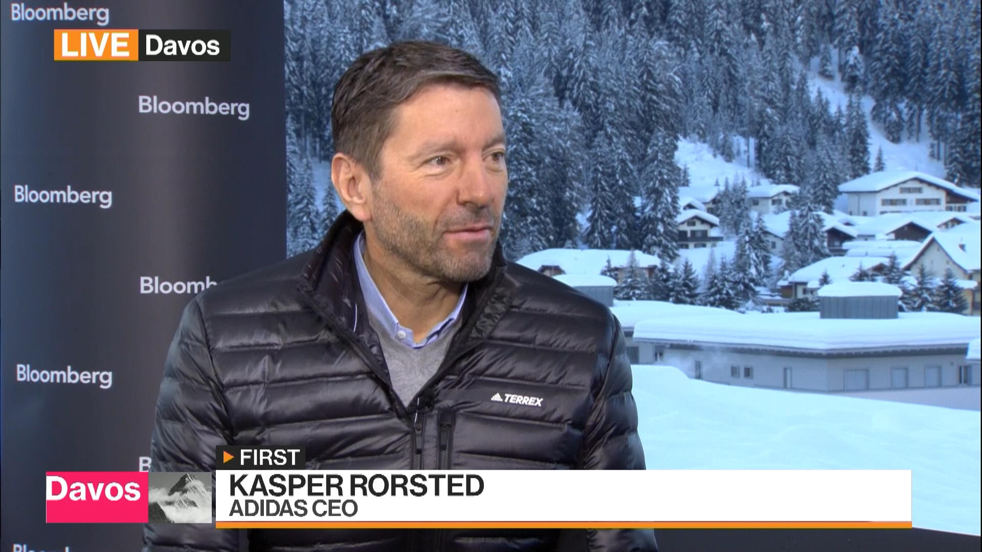 Hormiga cápsula oleada  Adidas CEO Says U.S. Is 'Very Strong', More Worried About Europe - Bloomberg