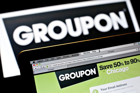 Groupon Sales Miss Estimates as Demand Wanes for Daily Coupons