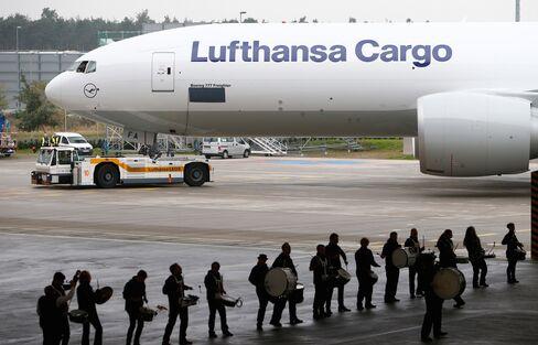 Lufthansa Cargo's Boeing 777F Freighter Aircraft