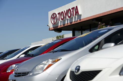 Toyota Rises After Earnings Beat Analyst Estimates