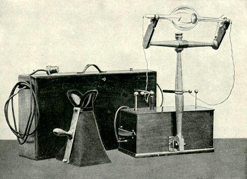 X-ray, 1901.