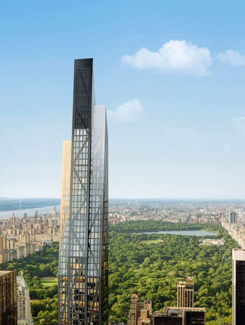Like many of the supertall buildings going up in Midtown, 53W53 commands Central Park views.