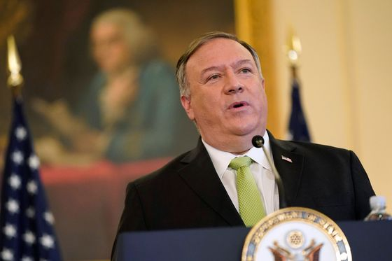 Pompeo Hits Campaign Trail for Trump in Shift for Top Diplomat