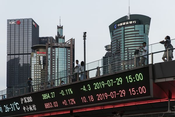 Daily Life In Shanghai As Trade Talks Resume In China's Most Populous City