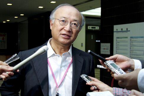 IAEA Secretary-General Yukiya Amano