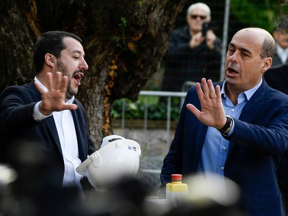 Don't Look Now, But Italy's PD Party Is Inching Up on Five Star