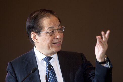 China Banking Regulatory Commission Former Chairman Liu Mingkang