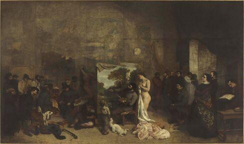 'The Painter's Studio'