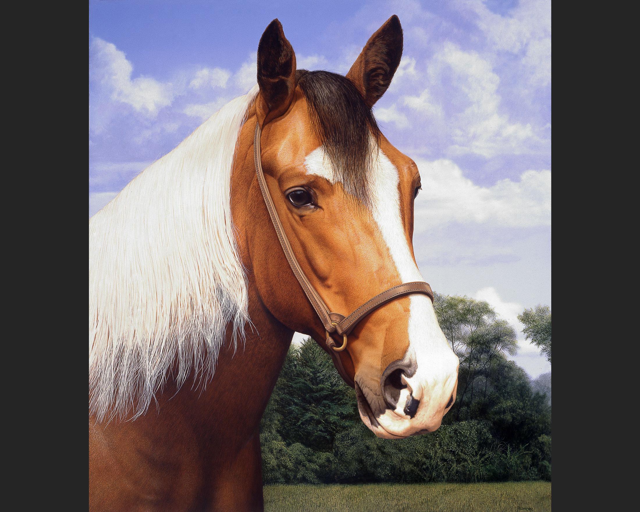 'Mickey's Paint Horse,' circa 1990s
