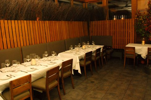 The dining room at Blue Hill in Manhattan.