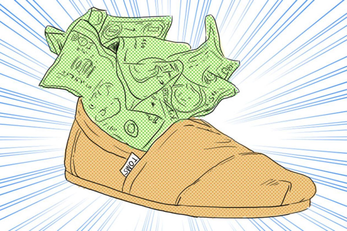 Bain Buys Toms Shoes