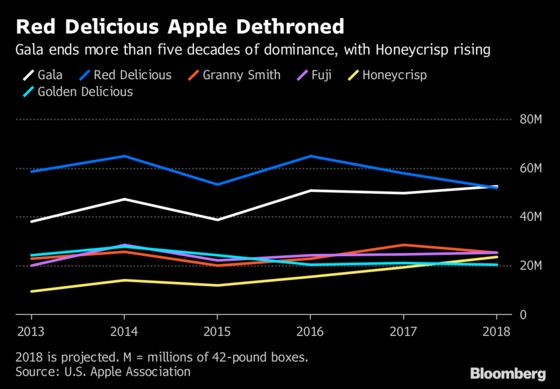 America's Top Apple Is Now the Gala