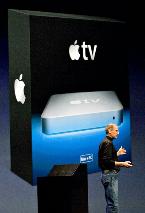 Steve Job's Vision, Apple TV, Could Be Year Away