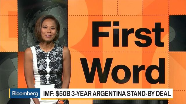 Argentina gets $50bn rescue loan from International Monetary Fund