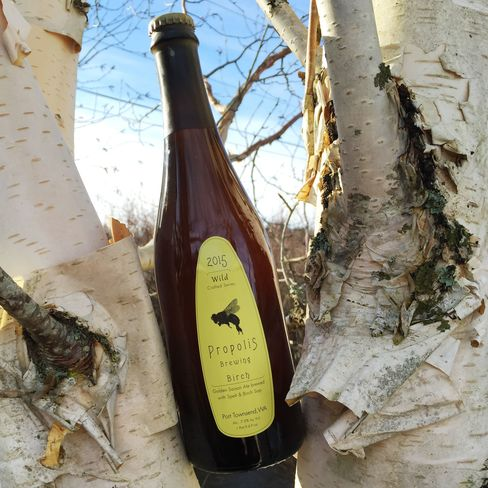 For a primer on Propolis Brewing's hand-bottled/corked/capped/labeled/waxed releases, try their Birch saison brewed with the tree's sap.