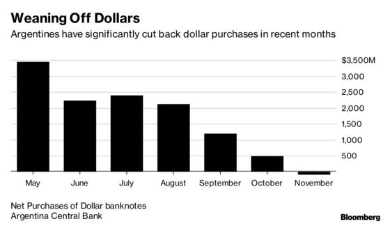 Dollar Fever Subsides in Argentina as IMF Plan Stabilizes Peso