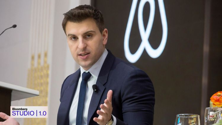 relates to Airbnb CEO Brian Chesky on 'Bloomberg Studio 1.0'