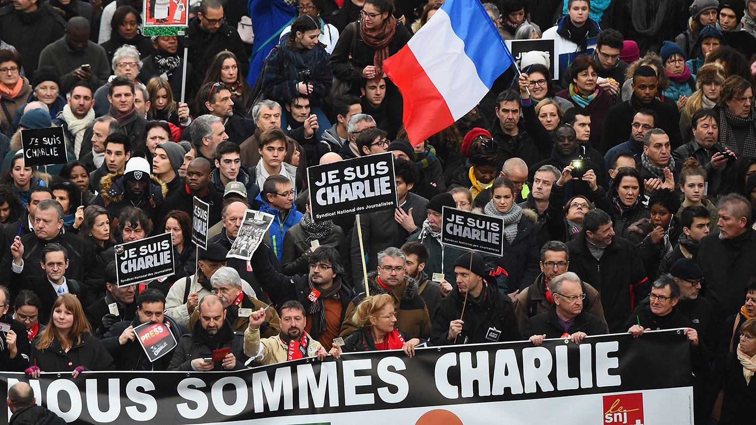 'Nous sommes Charlie'