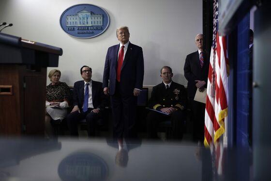 Trump Declares He Has 'Total' Authority to Reopen After Virus