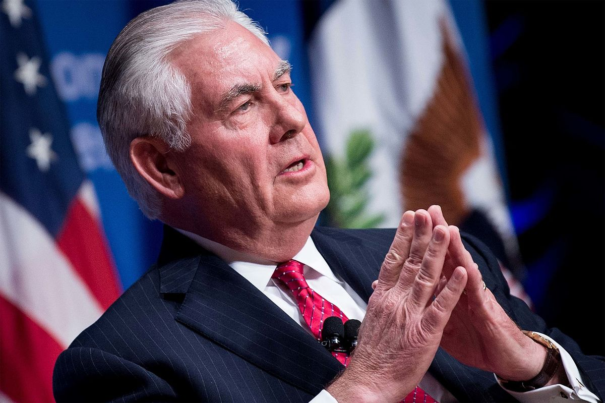 Tillerson Says Russia Isn't Acting Like a 'Responsible Nation'