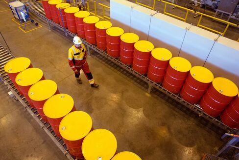 Royal Dutch Shell Plc's Oil Lubricants Plant