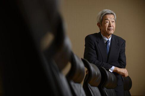 Tokyo Commodity Exchange President Tadashi Ezaki