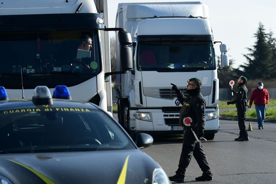 Italy Struggles to Contain Virus With Rich North in Lockdown