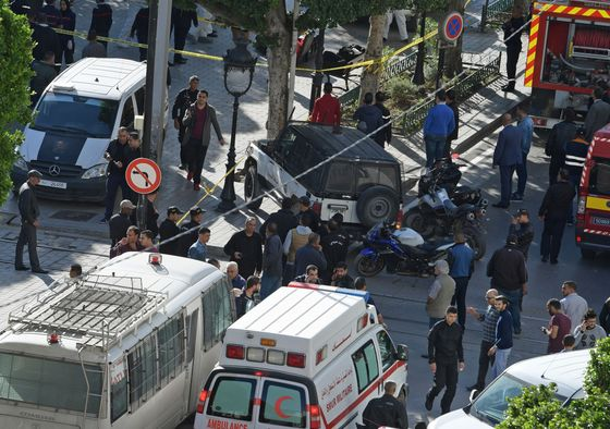 Suicide Bomber Strikes Tunis, Adding to Nation's Political Crisis