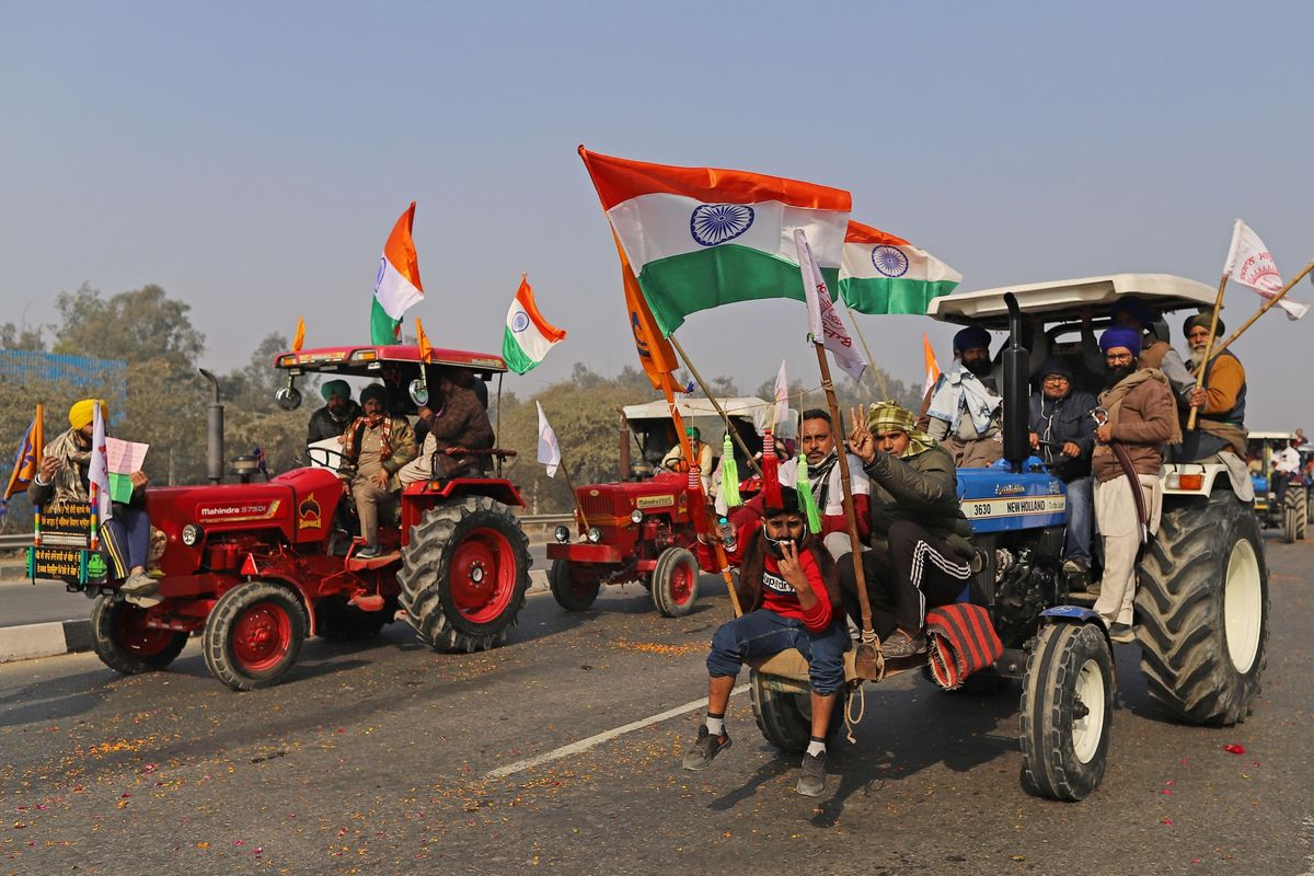 India Farmers Clash With Police in Delhi as Protests Mount