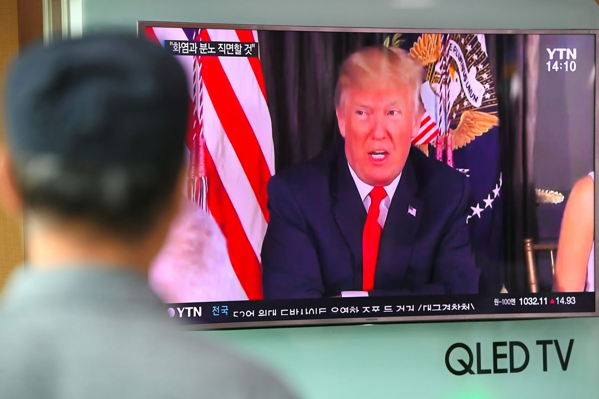 U.S. Allies in North Korea Firing Line Shrug Off Trump's Threats