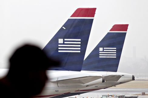 US Airways Sets Terms With AMR Unions for Possible Merger