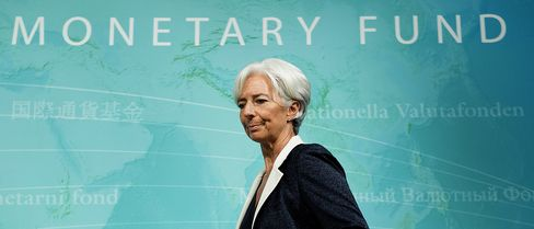 Lagarde Consumed by Euro Crisis Steers Tough Love at IMF