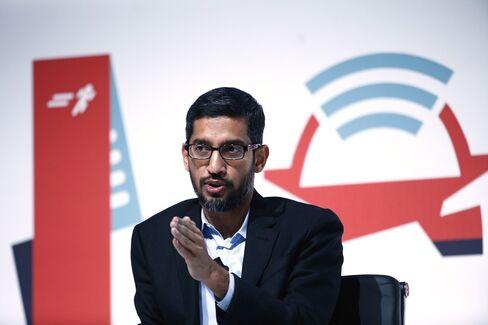 Google Senior Vice President Sundar Pichai