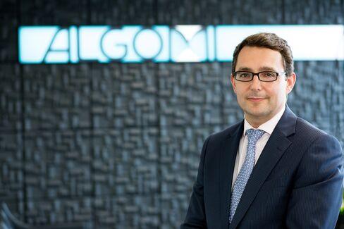 Algomi CEO Stu Taylor