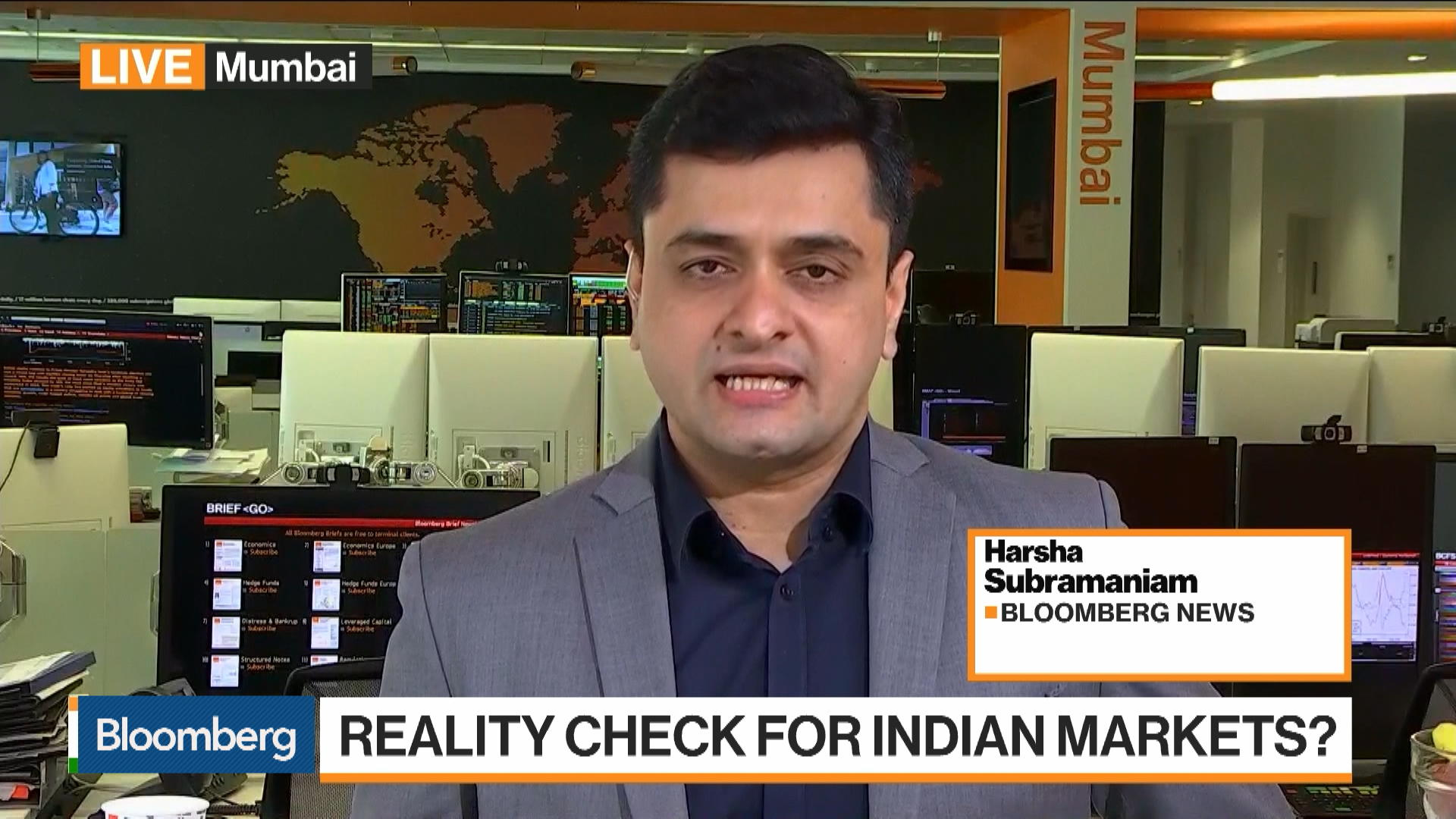 Reality Check for Indian Markets?