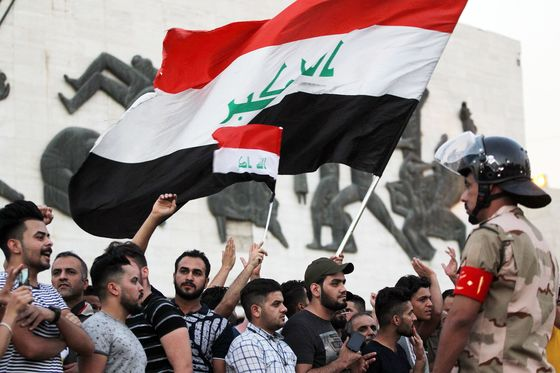 Iraq Says Oil Safe as Government Cuts Social Media Amid Protests