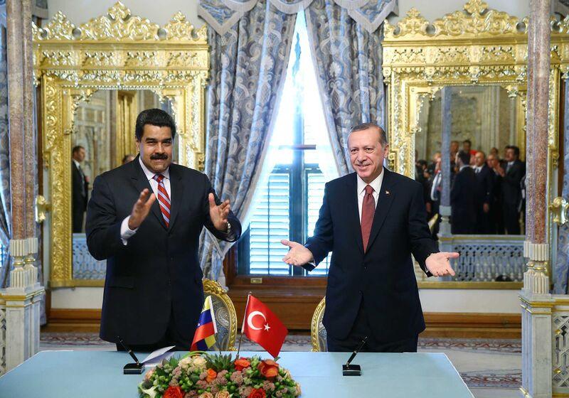 se relaciona con el esquema comercial de Venezuela con Turquía que está enriqueciendo a un misterioso amigo de Maduro