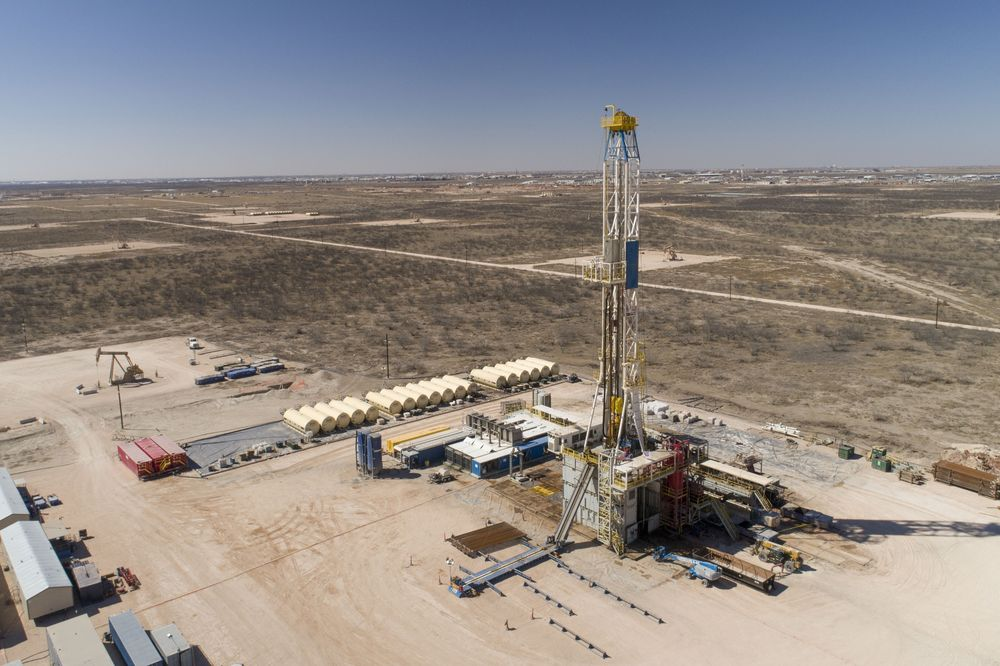 Image result for shale oil drilling rigs 2019