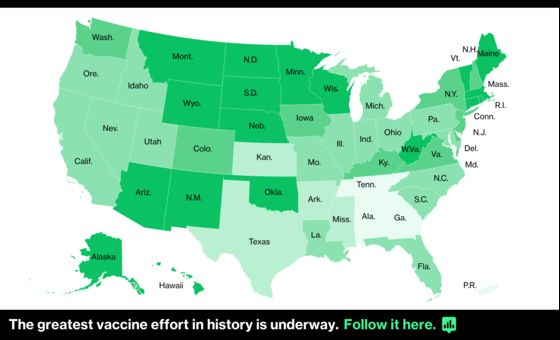 U.S. Hits 100-Million Vaccine Mark Three Months Into Effort